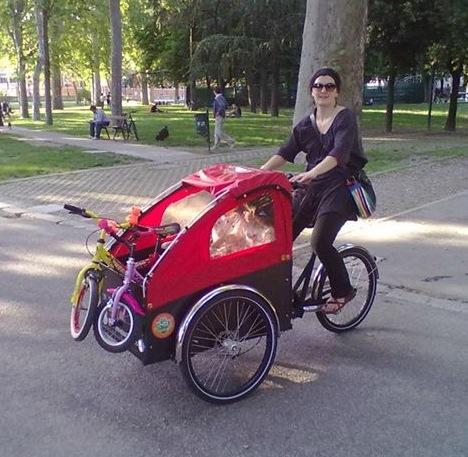 La Cargo Bike Ti Cambia La Vita Intervista Alle Cargo Mamme