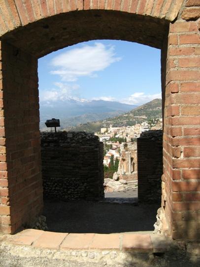 Taormina, Teatro grevo veduta