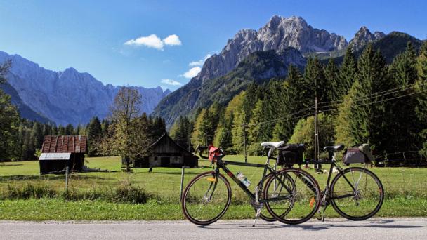Slovenia in bici
