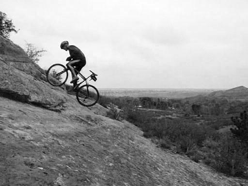 Salite in bici