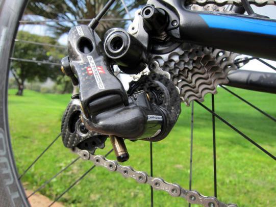 Bici in fibra di carbonio