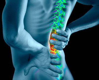 bici e mal di schiena e dolore