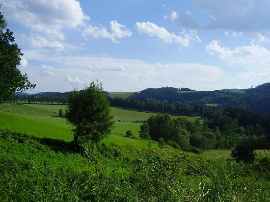 Campagna fiume Moldava