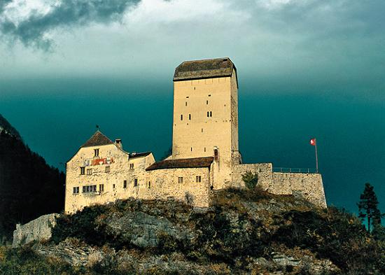 Itinerario laghi Svizzera, castello di Sargans
