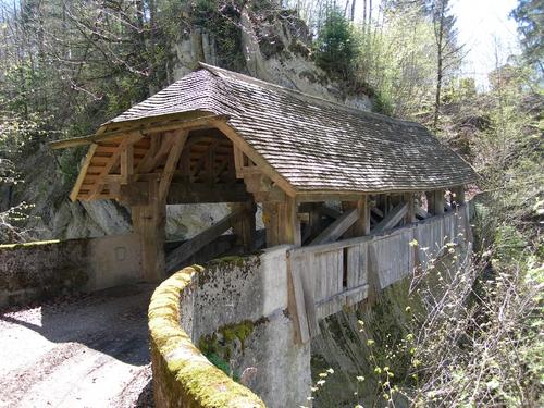 Itinerario laghi Svizzera, ponte