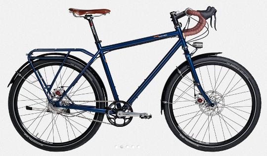 Bici da cicloturismo tout-terrain-silkroad