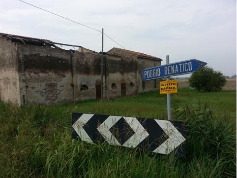 La campagna tra Ferrara e Bologna