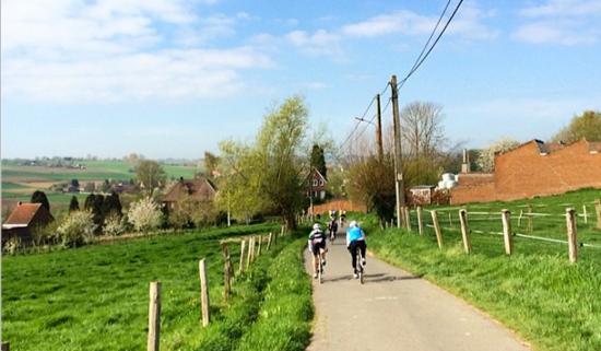 Fiandre in bici