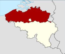 Mappa Fiandre