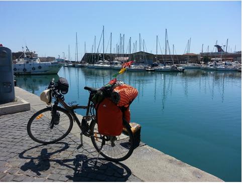 Il porto a Civitavecchia
