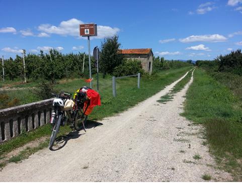 Il Sentiero della Bonifica, da Arezzo a Chiusi (Si)