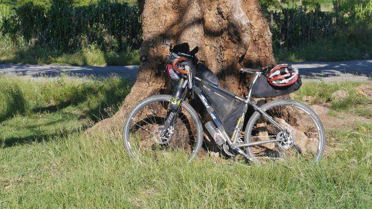 La Salsa Fargo di Sergio in assetto bikepacking