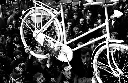 bici bianche provos