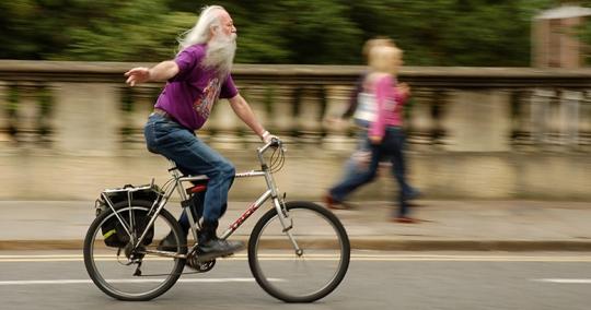 la bici allunga la vita