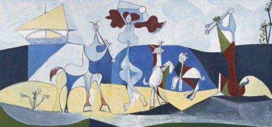 Joie De Vivire, Pablo Picasso, 1946