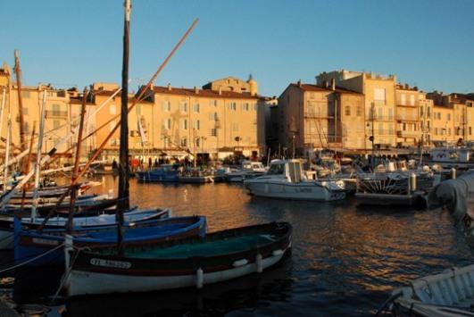 Il porticciolo di Saint-Tropez