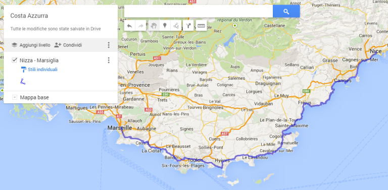 Cartina Italia Interattiva Html.Creare Una Mappa Interattiva Con Google My Maps