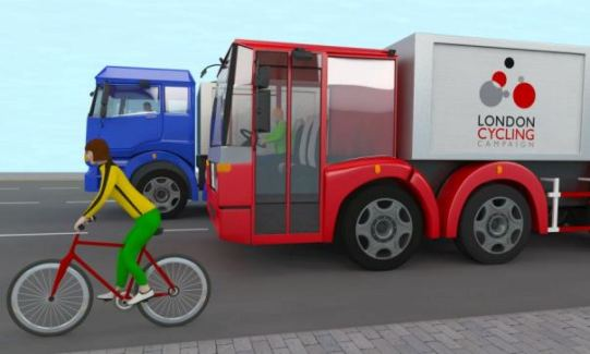 cyclesafe-campaign-lorry