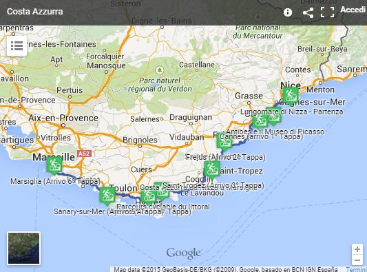 Cartina Stradale Costa Azzurra.Creare Una Mappa Interattiva Con Google My Maps