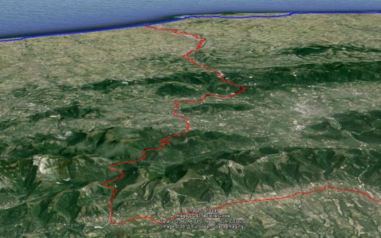 Passo Scheggia e mare Adriatico