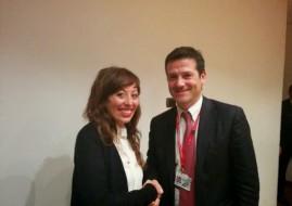 Sara Poluzzi con Orazio Iacono