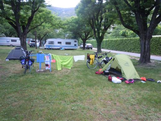 Campeggio di Vallon-Pont-d'Arc