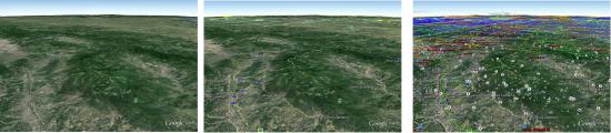 Esempio layer Google Earth