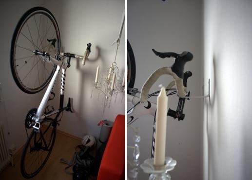 Supporti per bici da interno - Portapentole da soffitto ...