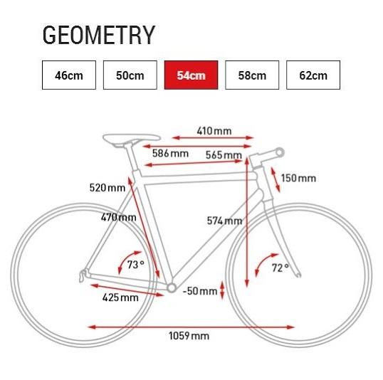 taglie e misure del telaio della bici da citt e viaggio