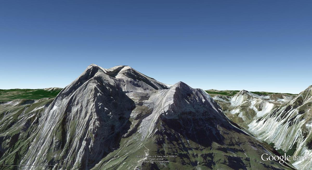 Uso di Google Earth nel cicloturismo