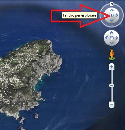 Variare angolazione Google Earth