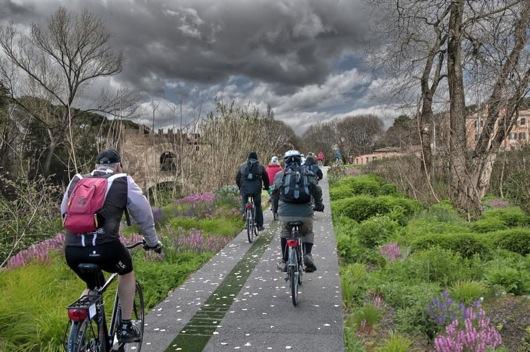 GRAB, un tratto del Grande Raccordo Anulare delle Bici a Roma
