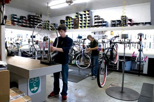 Allestire un officina per bici in metri quadrati