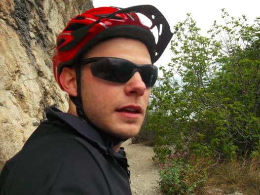 Basta, io giro la bici!