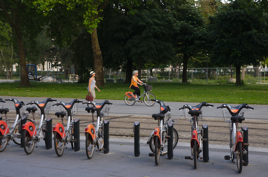 Bikesharing Nantes