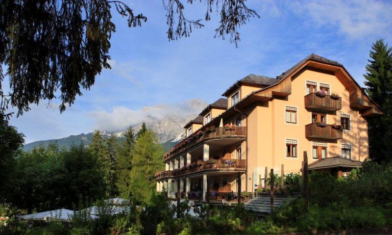 Bike Hotel per ciclisti Cortina - Hotel Villa Blu
