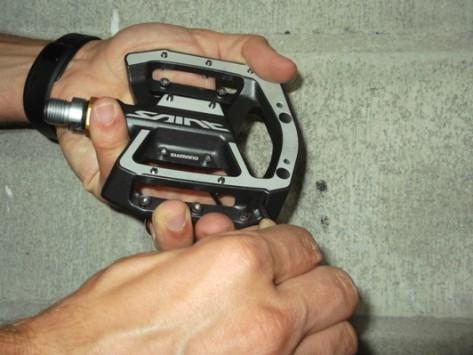 Regolazione pedali flat