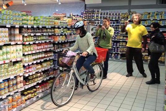 bicicletta uomo hogan