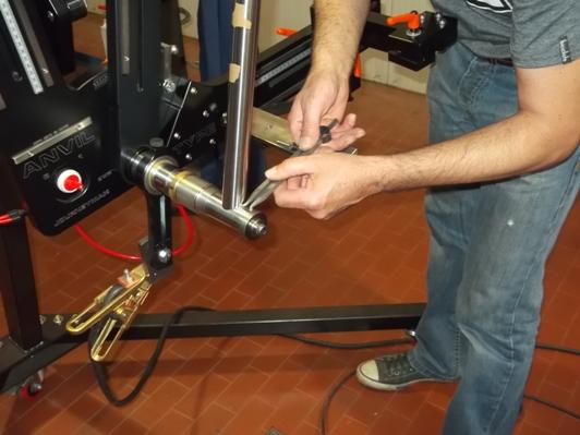 La misurazione della posizione dei tubi