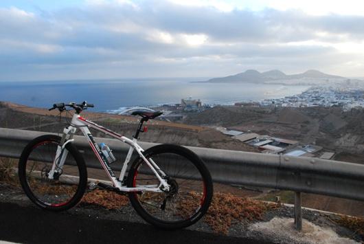 Las Palmas alle prime luci dell'alba