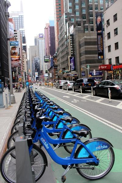 Citi Bikes a Manhattan