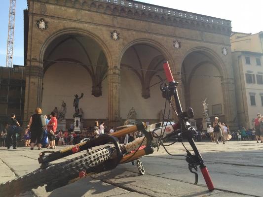 Piazza della Signoria, finalmente