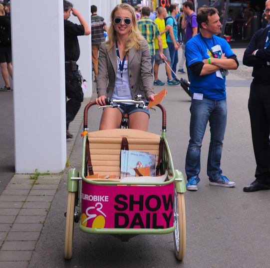 Eurobike hostess