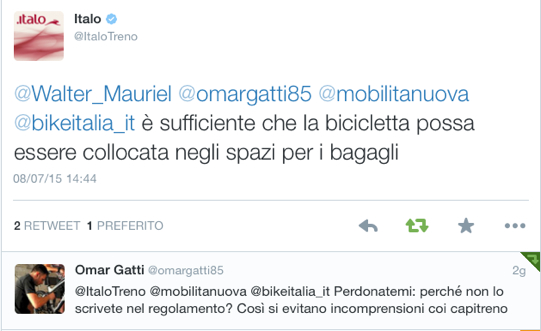 ITALO_TRENO_BICI_RISPOSTA_INGOMBRO