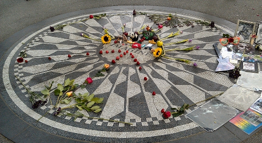 Strawberry Fields in Central Park New York
