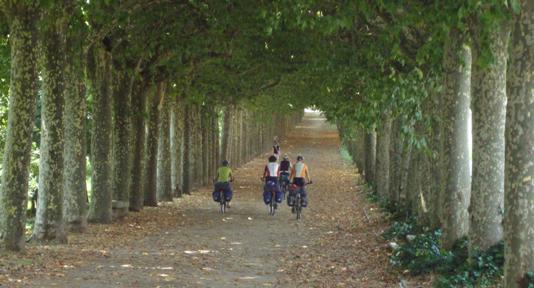 L'inizio della via verde ad Olot