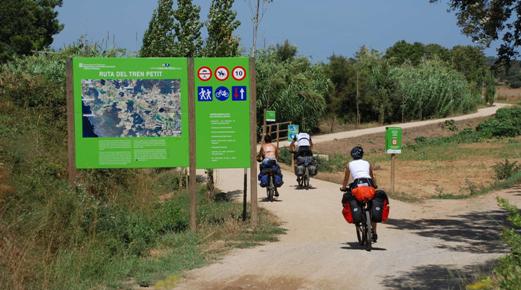 Via Verde nei pressi Callella de Palafrugell