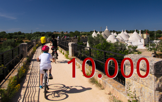 ciclovia acquedotto per tutti 10000