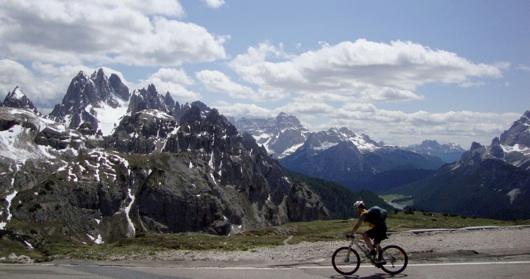Il cielo sulle Dolomiti