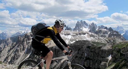 Pedalando sulle Dolomiti